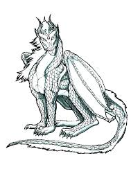 Dragon Coloring Pages Realistic Dragon Coloring Sheets Realistic