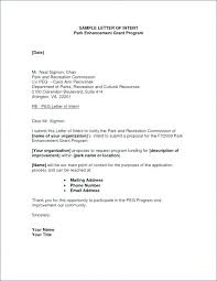 Recreation Program Proposal Template Letter Recreation Program ...