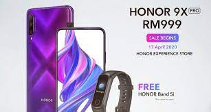 honor 9x pro arrives in msia for