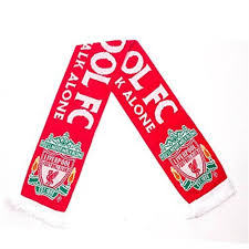 details about spot on gifts liverpool ynwa scarf red crest official licensed football