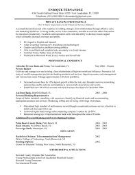 Banking Resume Examples Stunning Personal Banker Resume Examples Professional Experience 48 Banking