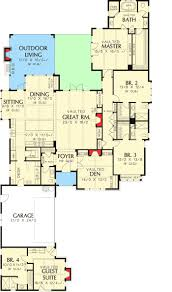 ranch house plans with mother in law apartment elegant house plan inlaw suites small house plans