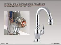 handle adjustment for vinnata and