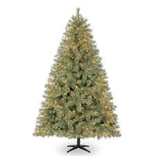 7.5 Ft. Pre-Lit Jasper Cashmere Artificial Christmas Tree, Clear Lights by  Ashland