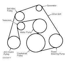 2000 ford focus timing belt diagram