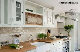 kitchen with hanging dish rack accessories tips for