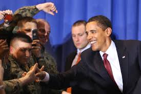 u s department of defense photo essay president barack obama shakes hands troops and civilians during his to camp lejeune