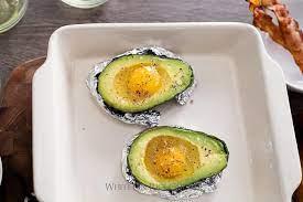 baked eggs in avocado recipe paleo