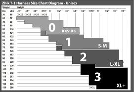 Zhik Size Chart