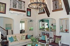 Turquoise Home Decor Accents Stylish interior with turquoise accents by Highland Homes 17