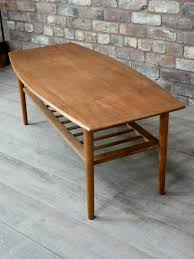 small round teak coffee table designs