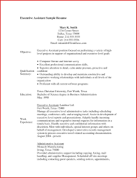 Resume Sample Administrative Assistant Sample Objective On Resume For Administrative Assistant Refrence 35