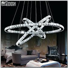 luxury crystal ring chandelier and amazing of circle chandelier light led crystal ring chandelier light modern
