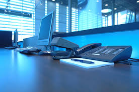 office blue. Receding Office Blue