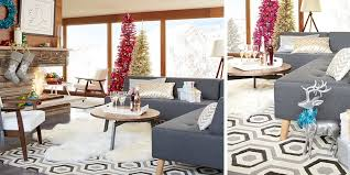 Mid Century Modern Interior Design Magnificent Design 48 MidCentury Modern Christmas Overstock