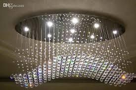 mesmerizing oval crystal chandelier wonderful crystal modern chandelier oval curtain wave modern chandeliers crystal lamp living room lamp oval drum crystal