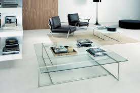 furniture contemporary glass coffee tables ideas modern round