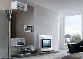 Inspiration For A Mid Sized Contemporary Family Room Remodel In Cheap Wall Units For Living Room