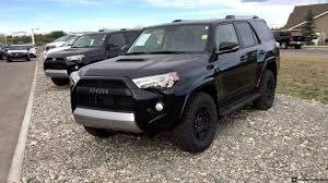Toyota: 2019-2020 Toyota 4Runner Black Editions Front View ...