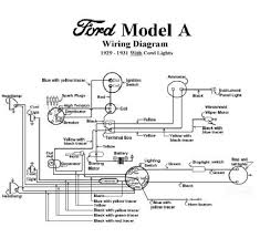 electrical model a garage Model A Ford Wiring Diagram 1929 1931 ford model a wiring diagram (with cowl lights) model a ford wiring diagram with cowl lights