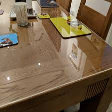 clear acrylic table tops and protectors
