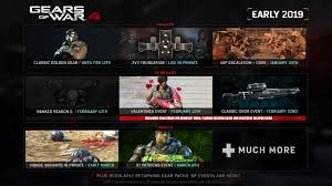 Gears Of War 4 Early 2019 Events Challenges