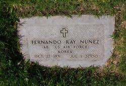 fernando ray nunez (1931-2000) - Find A Grave Memorial