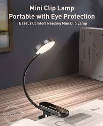 Đèn led Baseus kẹp bàn Comfort Reading Mini Clip không dây cảm ứng