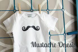 mustache onesie1 i love baby showers