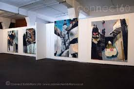 Art Exhibition Display Stands CONNECT WALLS Exhibitionstands Mobile Temporary Moveable 76