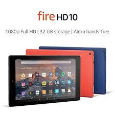 Fire <b>HD 10</b> Tablet with Alexa hands-free and <b>10</b>-<b>inch</b> screen
