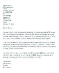 One Week Notice Resignation Letter One Week Resignation Letter Accurate 1 Weeks Notice Two