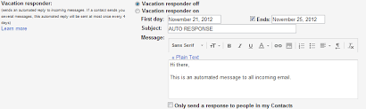 Automatic Respond Automation How Can I Set Gmail To Auto Respond To All Emails