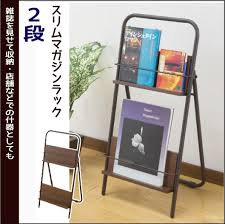newspaper rack for office. Integrowth | Rakuten Global Market: Slim Magazine Rack Newspaper Household Articles Store Company Office Recommended Mail For N
