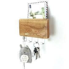 key organizer wall mail key holder wall key organizer letter rack wall wood mounted key holder