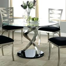 round glass kitchen table and chairs large size of dining room modern glass kitchen table round