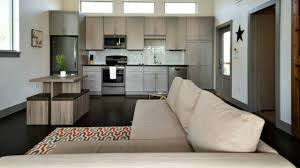 Small Picture Small House Modern Spacious Kitchen Living with Balcony Small