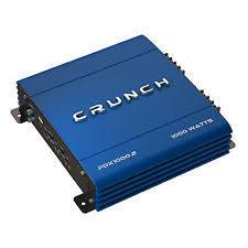 channel car amplifier crunch 1000 watt 2 channel exclusive blue a b car stereo amplifier pdx
