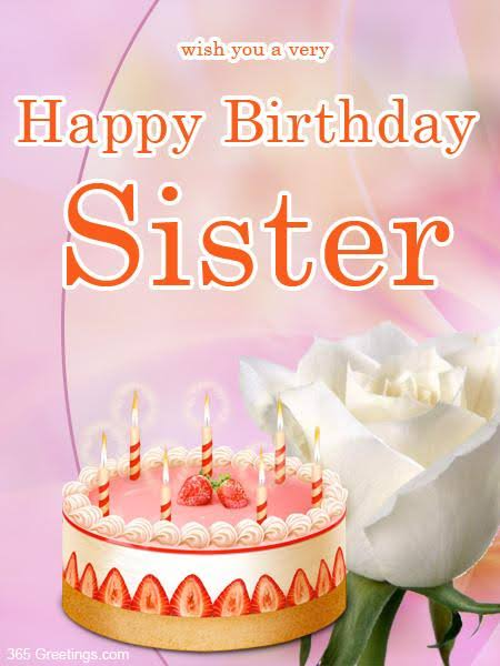 birthday status in hindi for sister