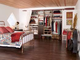 cabin reach in closet