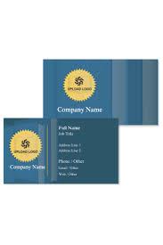 Educational Visiting Card Design Templates Print Tutor