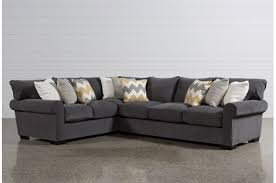 aurora 2 piece sectional dark grey sectional a66