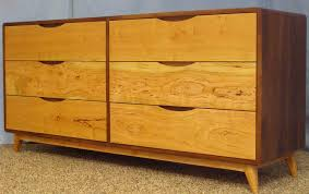 buy a hand crafted danish modern  drawer dresser built with sappy