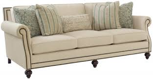 Brown leather living room furniture Primitive Style Brae Bernhardt Furniture Company Living Room Bernhardt