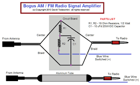 radiosignal booster disassembly of the bogus signal amplifier