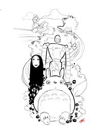 spirited away coloring pages. Wonderful Coloring Spirited Away Coloring Pages 21 With And W
