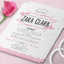 Bridal Shower Invitation Templates Adorable 48 Bridal Shower Invitation Templates Free Premium Downloads