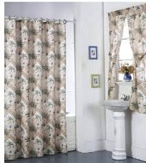 palm tree shower curtain get ations a palm tree shower curtain matching rings and window curtain palm tree shower curtain