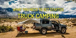 What You Need to Get Started Truck Camping - Desk to Dirtbag