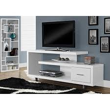 white tv stand. Unique White Monarch Specialties I 2573 White With 1 Drawer TV Stand 60u0026quot To Tv Stand T